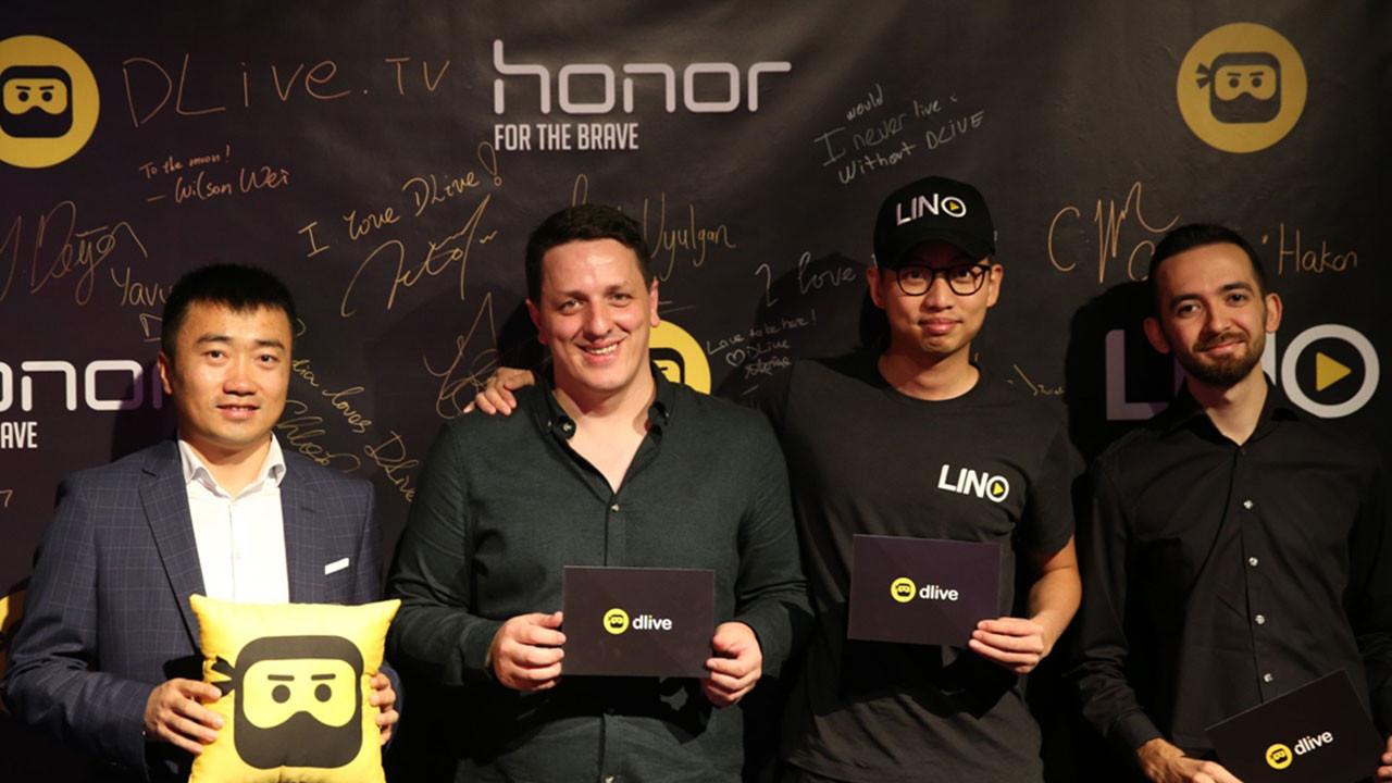 Honor ve DLive'dan iş ortaklığı
