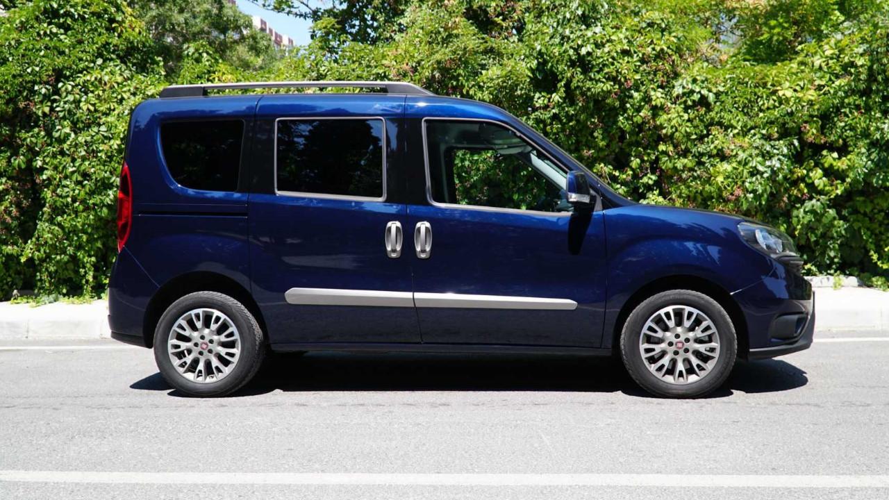 Fiat Doblo artık elektrikli!