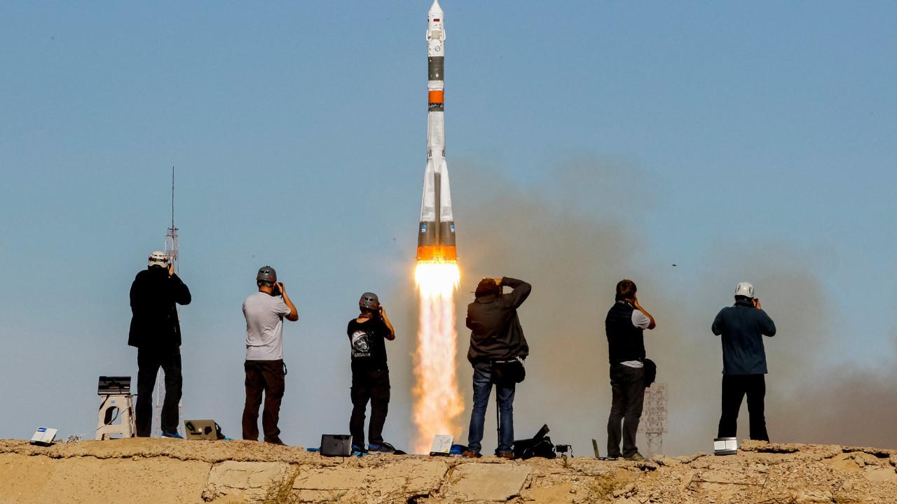 Soyuz MS-11 uzaya fırlatıldı!