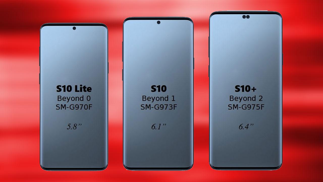 Samsung Galaxy S10 üç farklı modelle gelecek