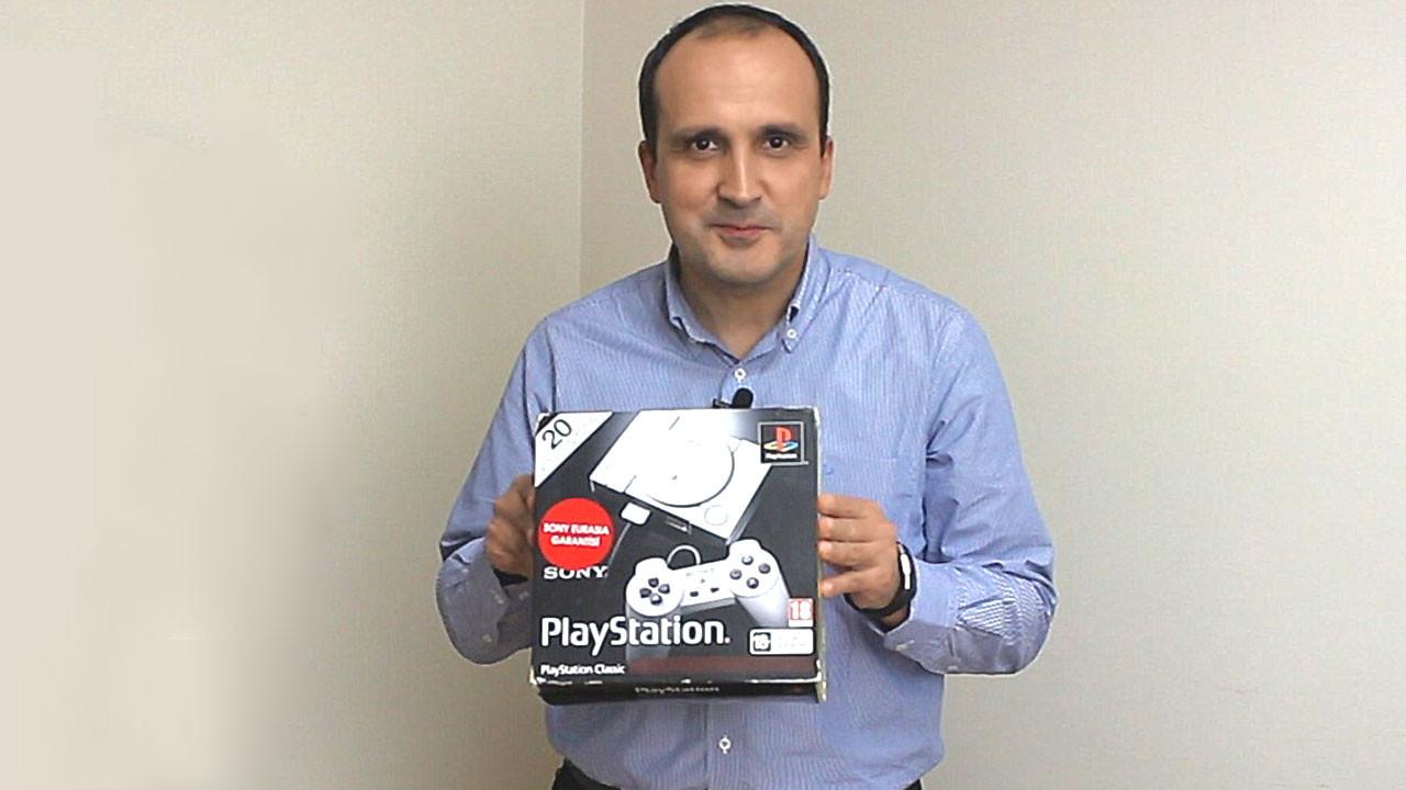 PlayStation Classic kutudan çıkıyor! (Video)