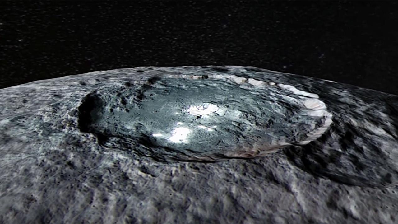 Cüce gezegen Ceres yaşıyor olabilir mi?