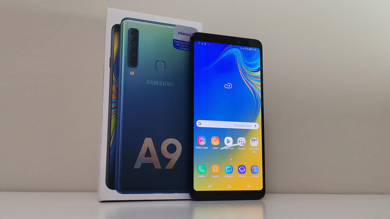Samsung Galaxy A9 (2018) kutudan çıkıyor! (Video)