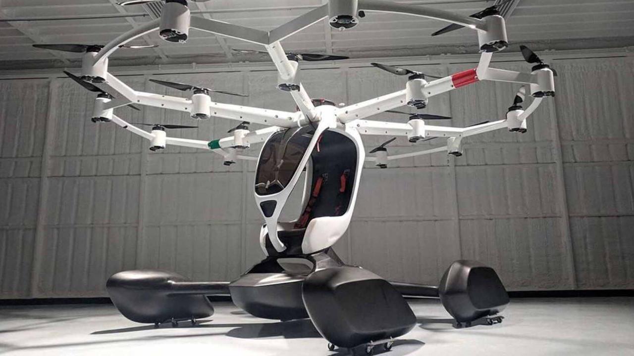 Tek kişilik drone seferleri başlıyor!