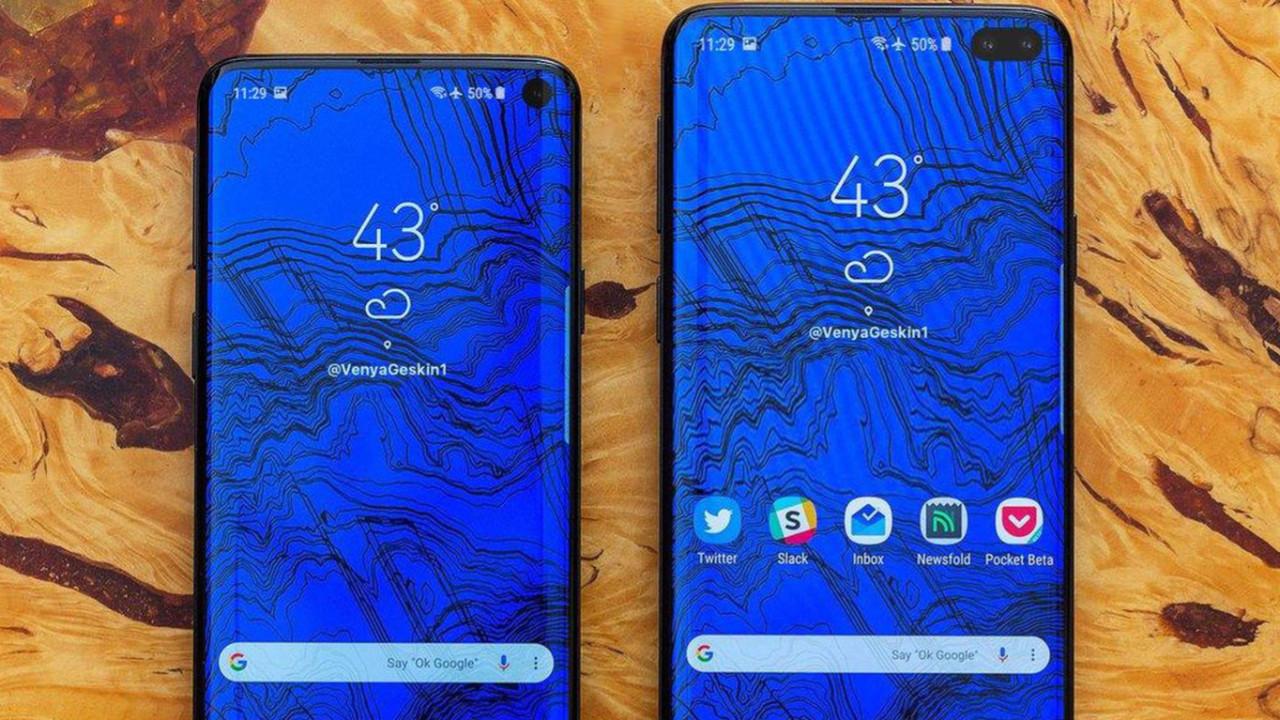 Samsung Galaxy S10 Plus ekran tasarımı sızdı!
