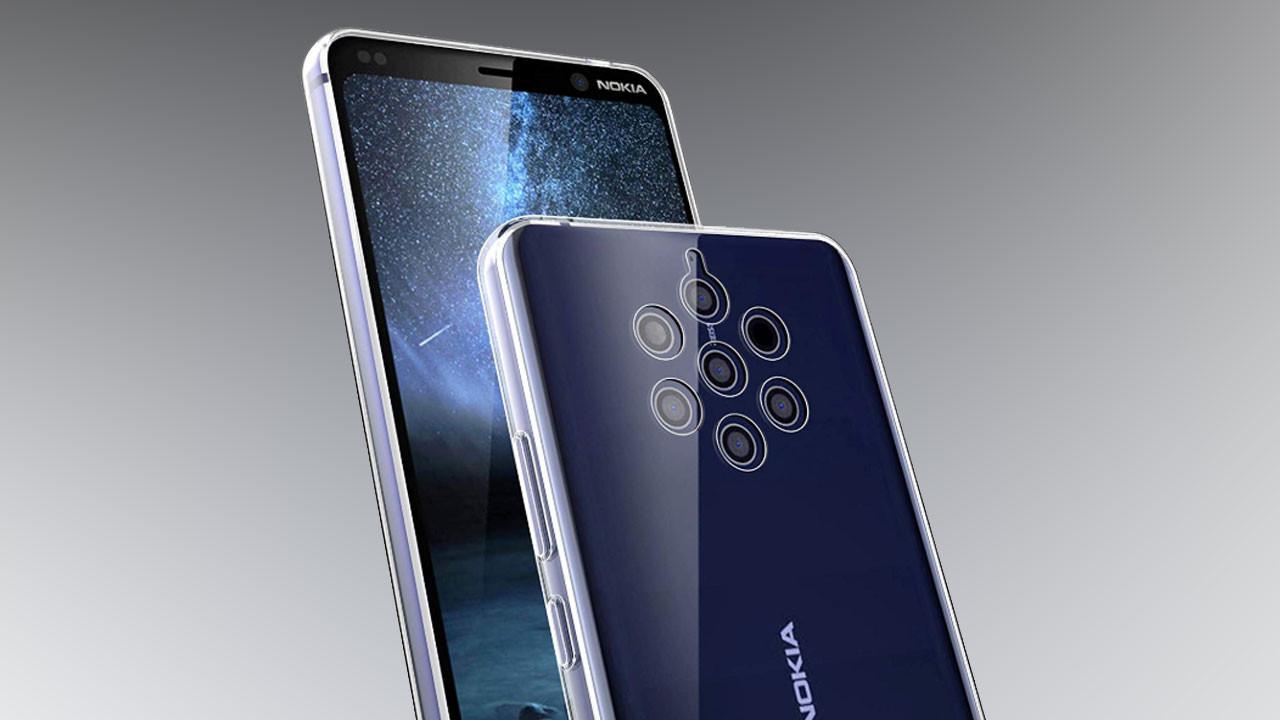 Nokia 9 arka yüzünde 7 kamera ile gelebilir!