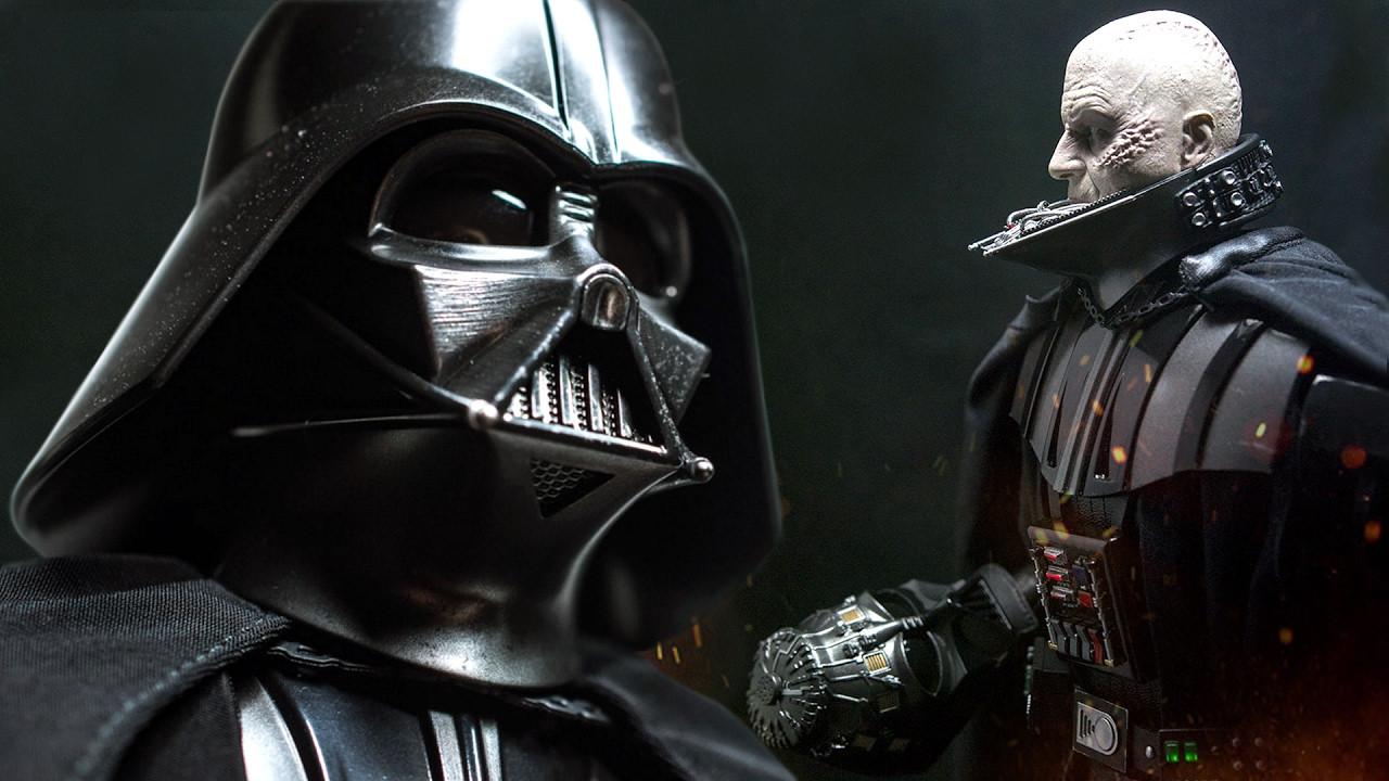 Dikkatleri üzerine çeken Darth Vader filmi!