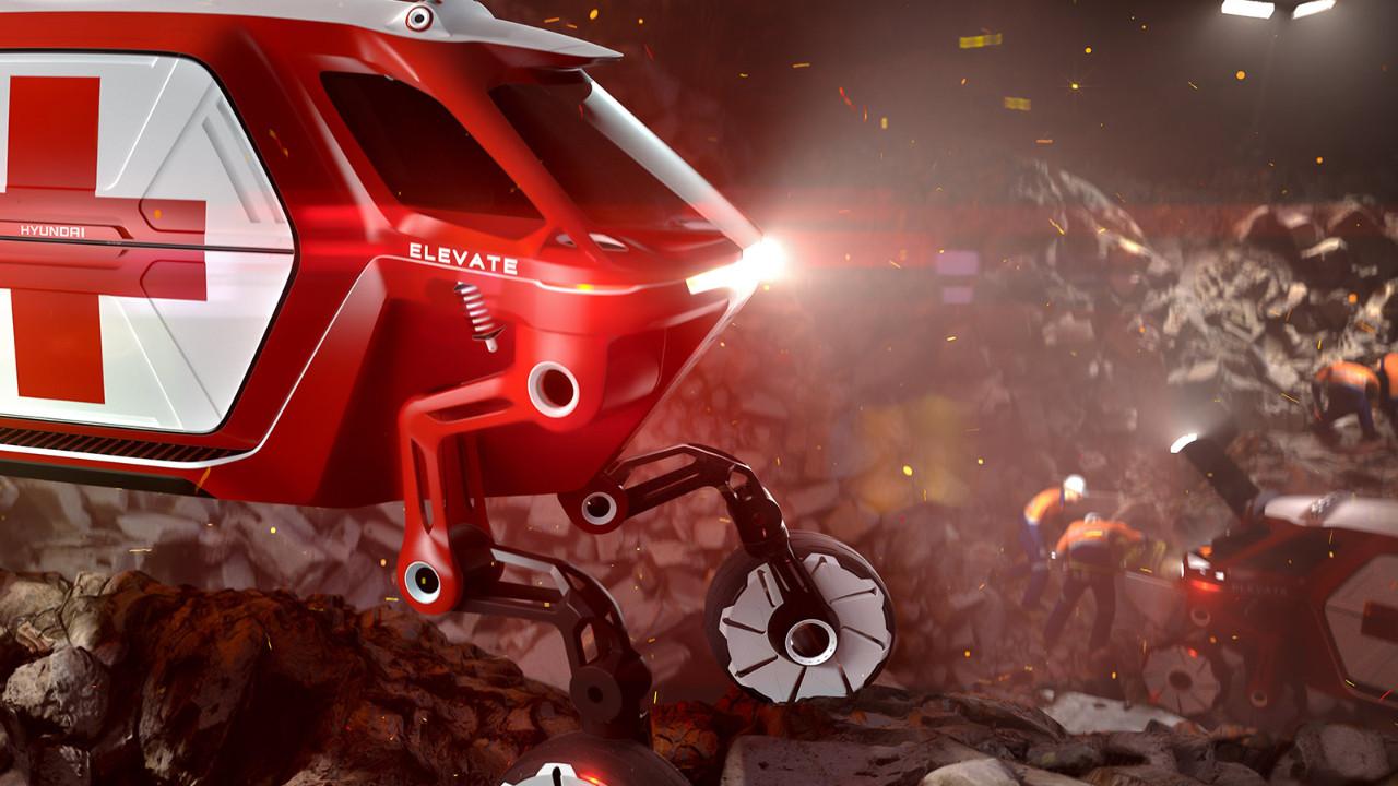 Hyundai CES 2019'da robot araç konseptini tanıtacak!