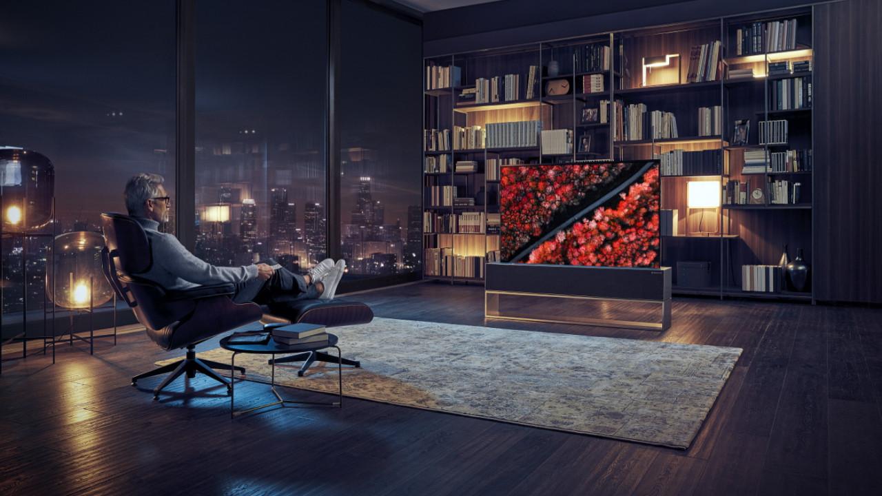 LG ilk kıvrılabilen OLED TV'sini CES 2019'da tanıtacak!