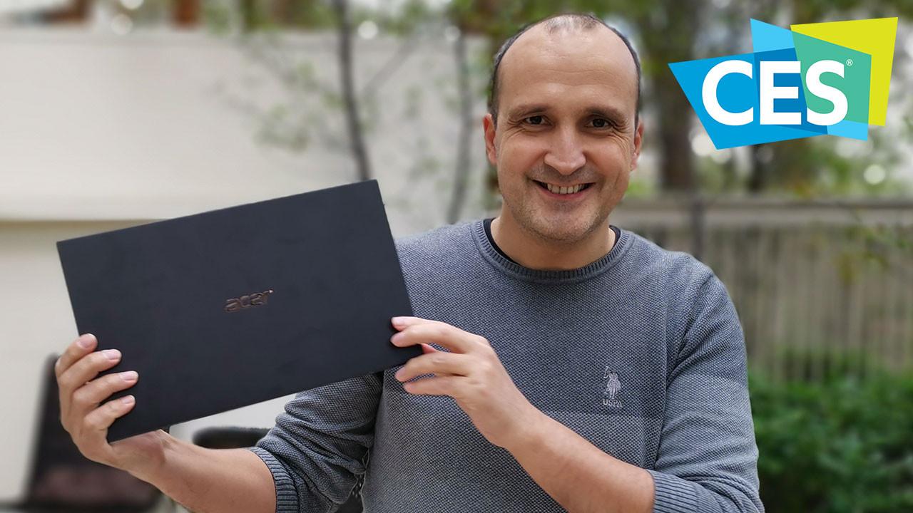 Acer Swift 7 elimizde! (Video)