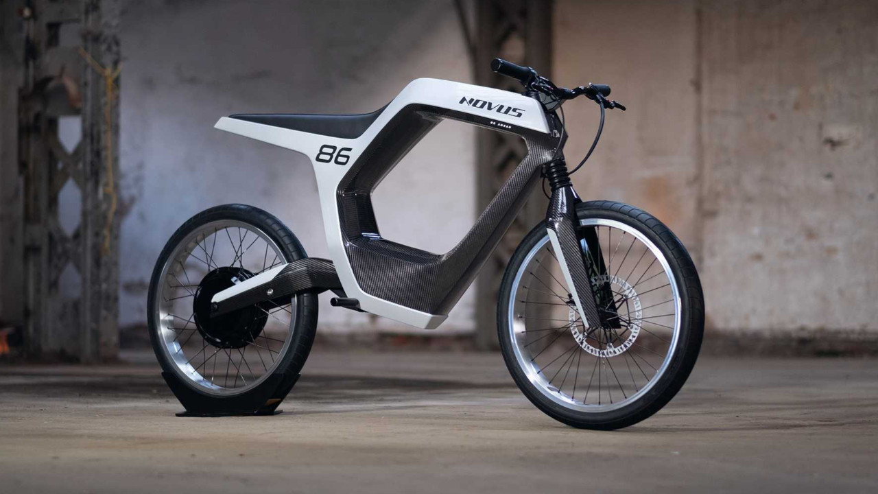 Novus elektrikli motosiklet tanıtıldı!