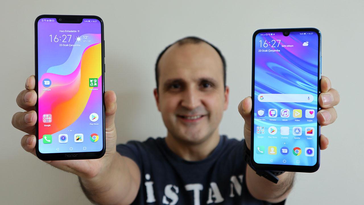 Huawei P smart 2019 ve Honor Play kameralarını karşılaştırdık (video)