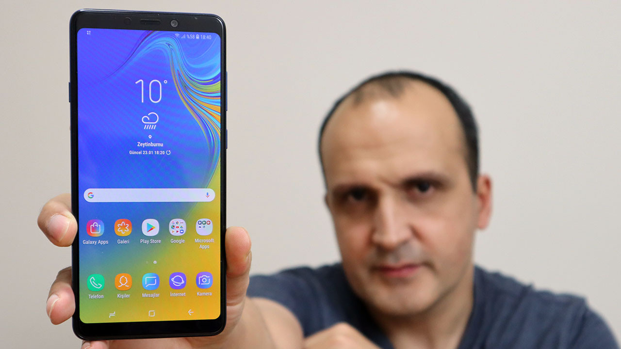 Samsung Galaxy A9 (2018) incelemesi (video)