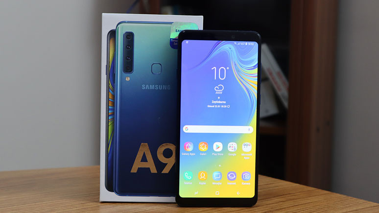 Samsung Galaxy A9 (2018) incelemesi (video) 3