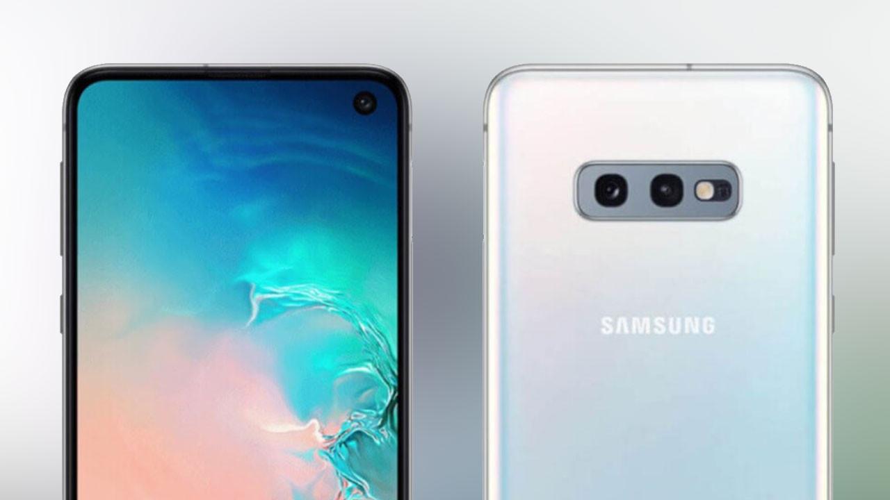 Samsung Galaxy S10E basın görselleri sızdı