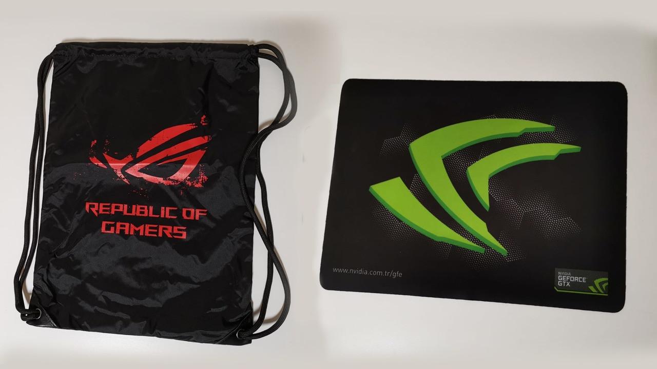 ROG çanta ve mouse pad kazanma fırsatı!
