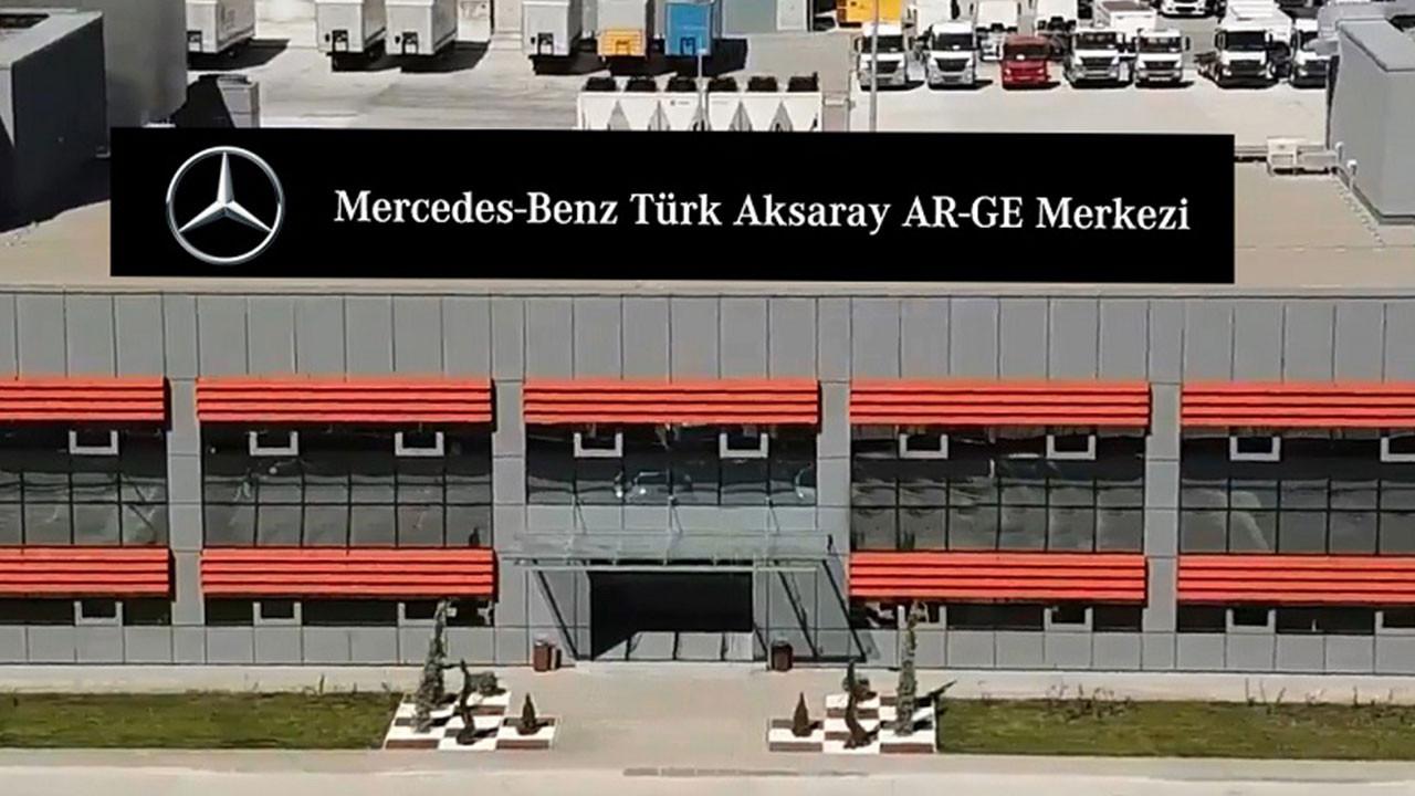 Mercedes Benz Türk Aksaray Ar-Ge Merkezi'ni gezdik (video)
