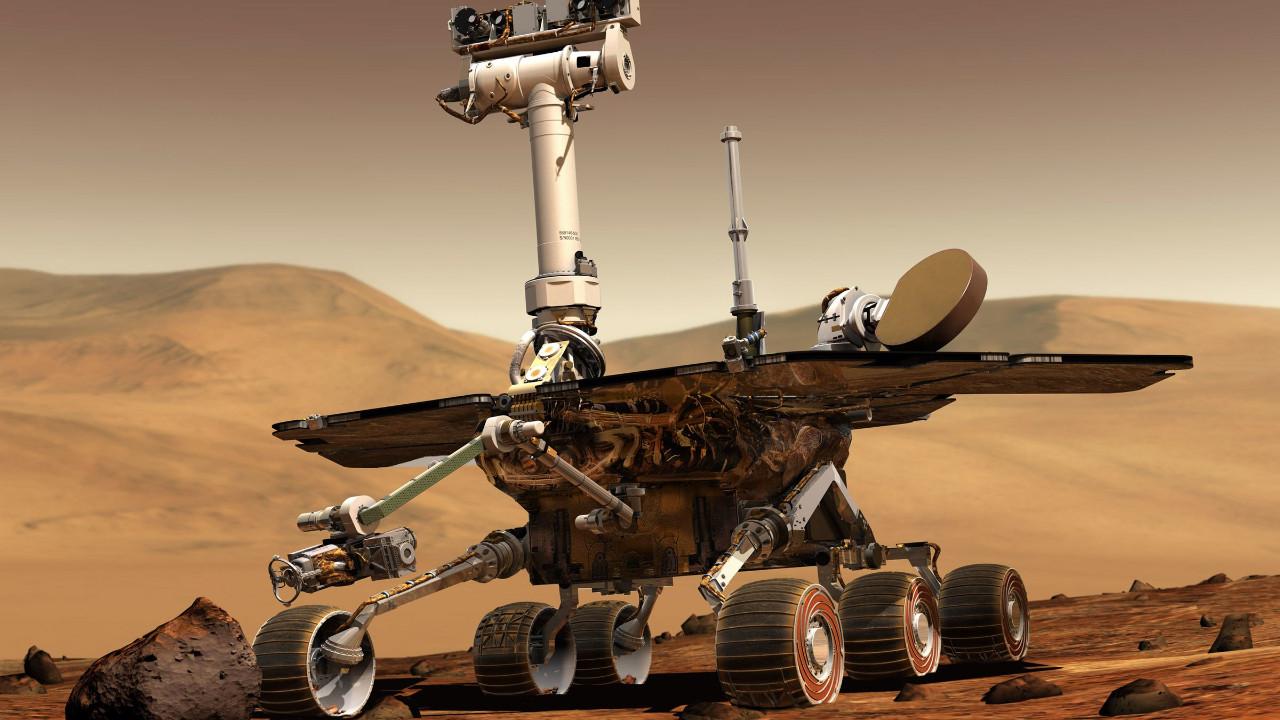 NASA'dan robot Opportunity'ye dokunaklı veda!