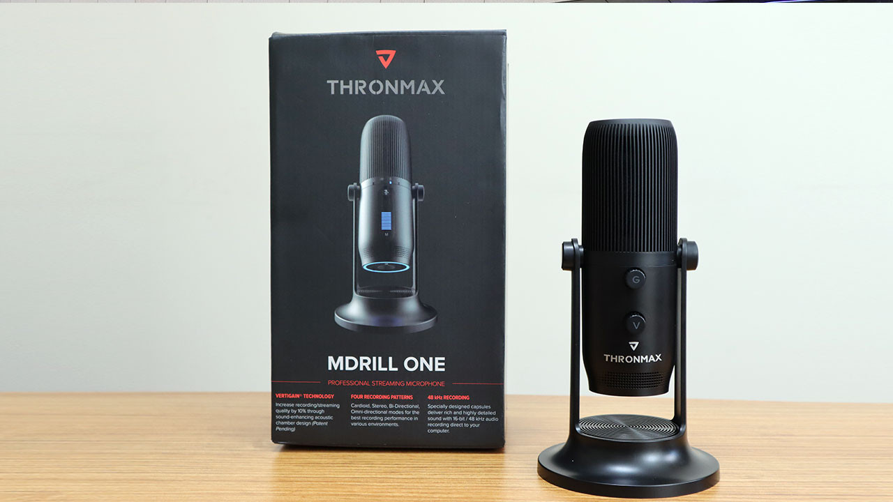 Twitch mikrofonu Thronmax Mdrill One kutudan çıkıyor (video)