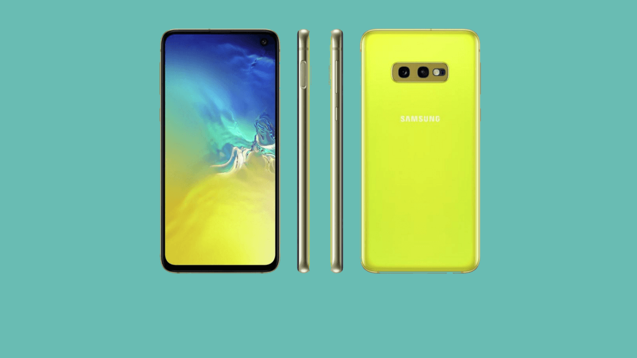 Samsung Galaxy S10e tanıtıldı!