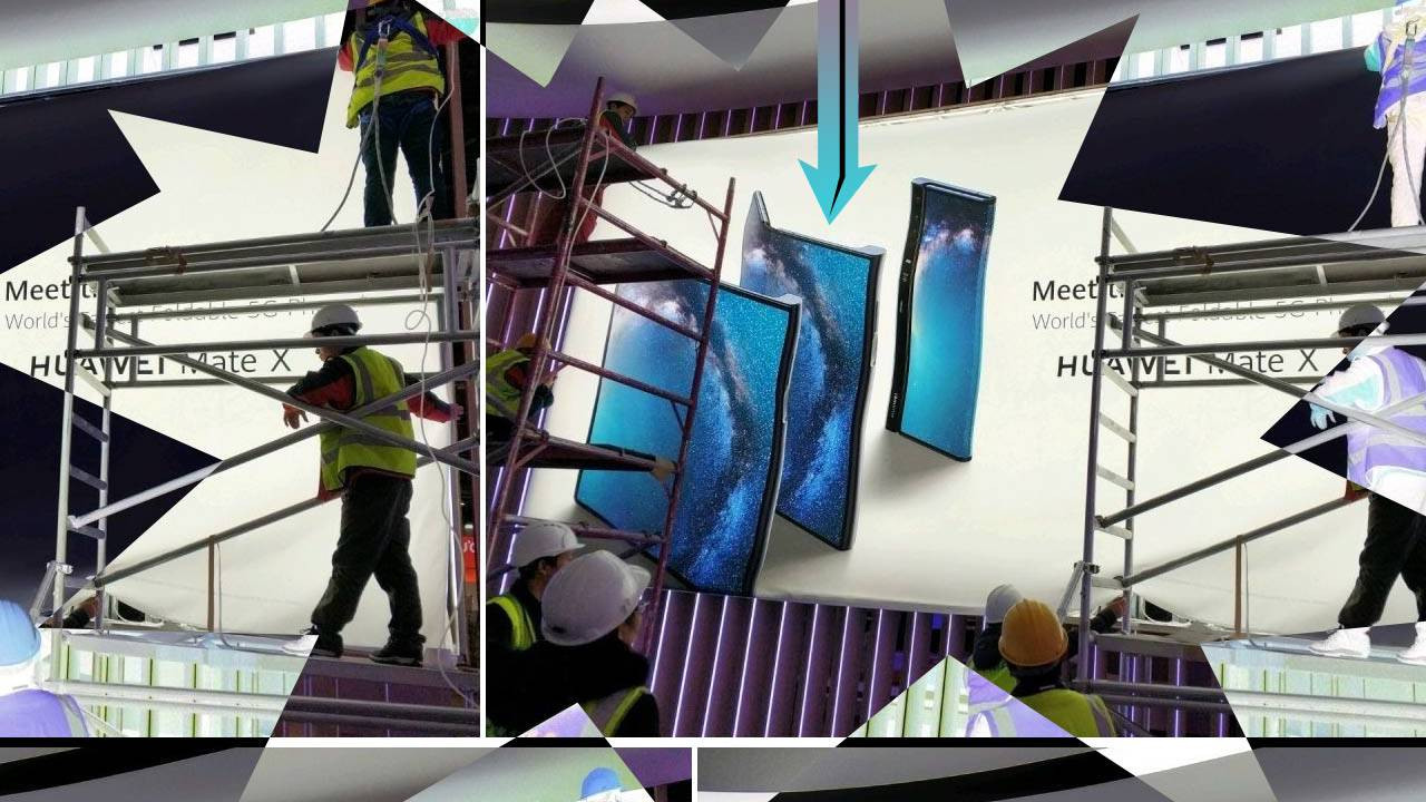 İşte Huawei'nin katlanabilir telefonu: Mate X!