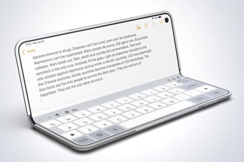 Apple'ın katlanabilir telefonunundan ilk görüntü! - Page 3