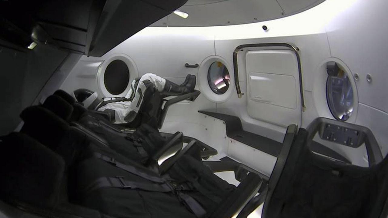 SpaceX deneme uçuşunu gerçekleştirdi