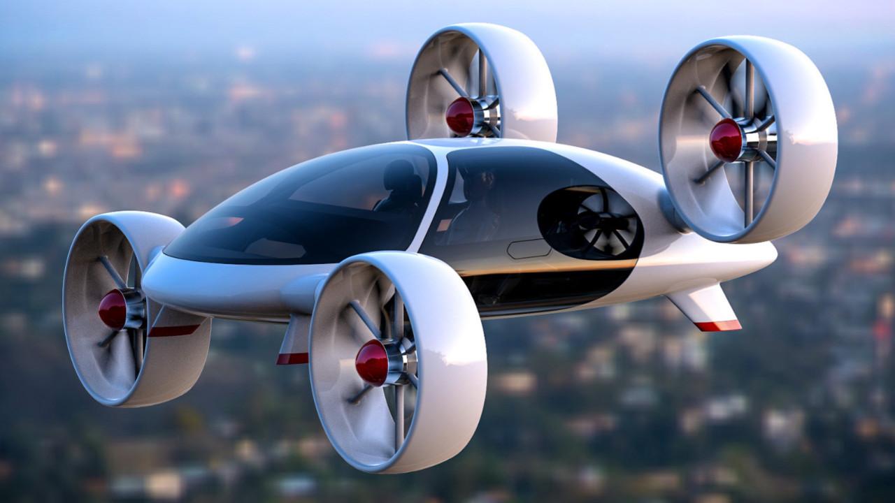 Uçan otomobil toplu taşımada kullanılacak!
