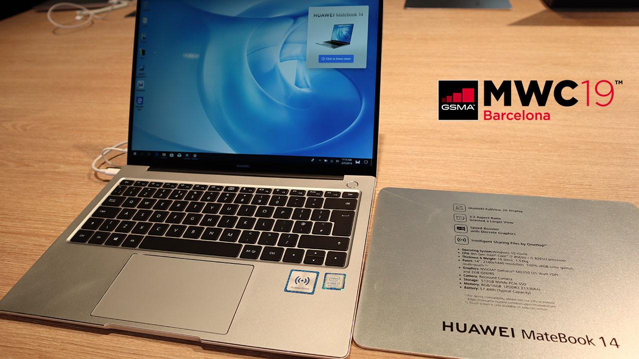 Huawei MateBook 14 hakkında her şey! (video)