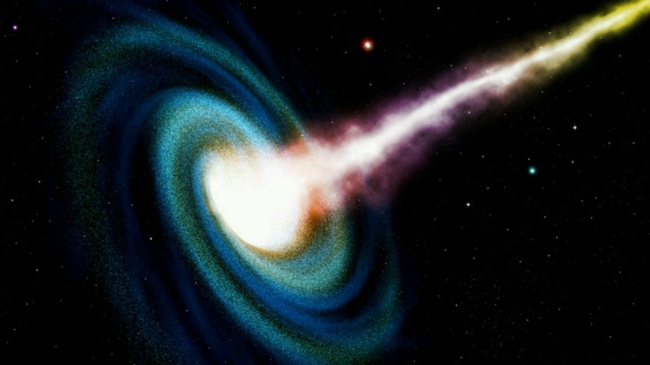 Hubble Uzay Teleskobu en parlak kuasarı keşfetti!