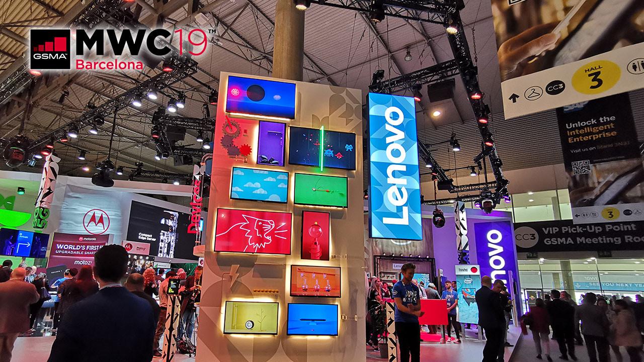 MWC'de Lenovo standını ziyaret ettik! (video)