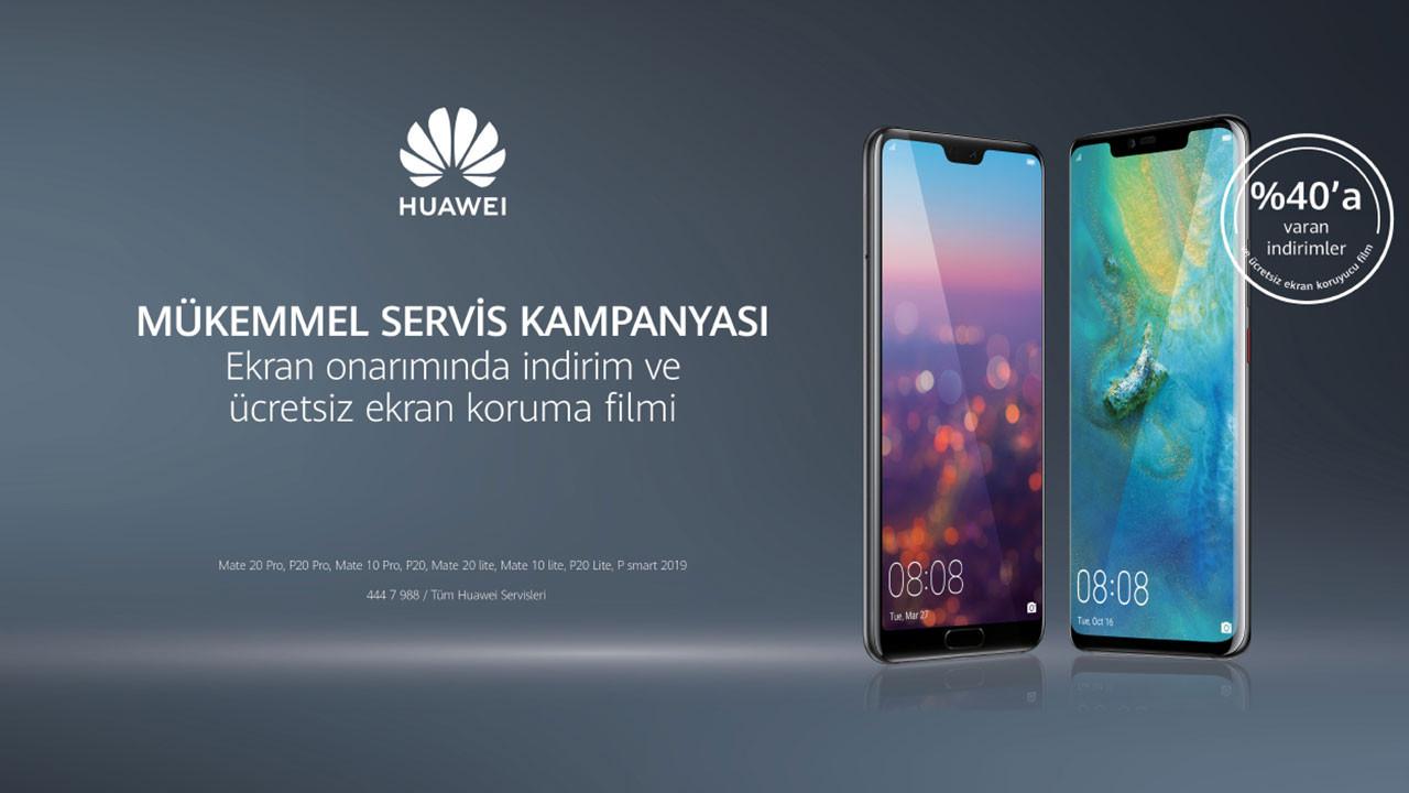 Huawei'den ekran onarım kampanyası