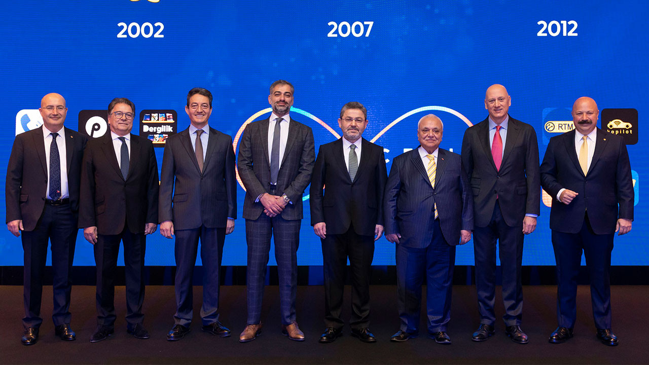 Turkcell 25. yılını eski genel müdürleriyle kutladı