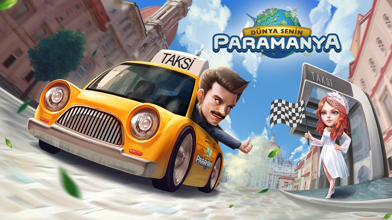 Paramanya'ya Taksi Haritası geldi