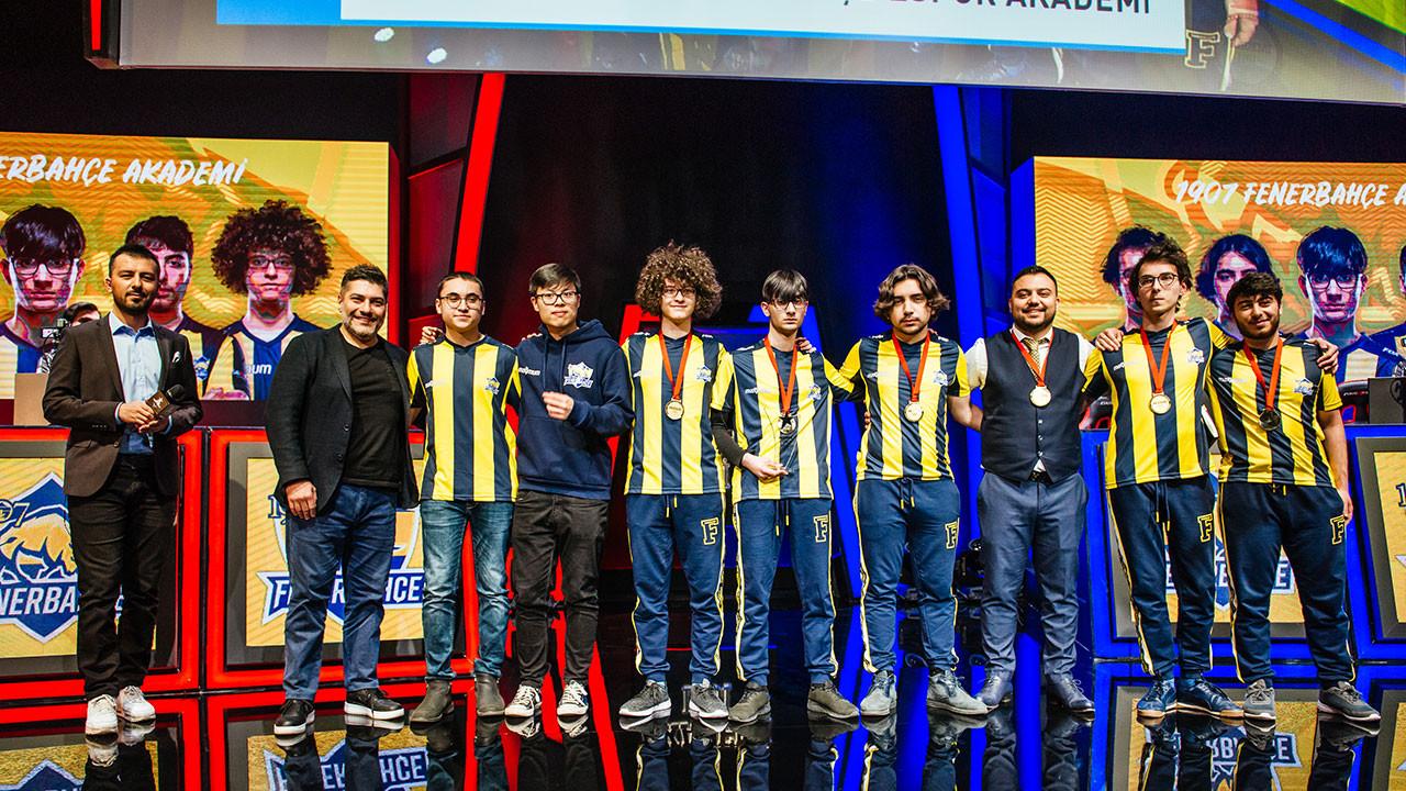 Akademi Ligi'nde şampiyonun adı: 1907 Fenerbahçe Espor