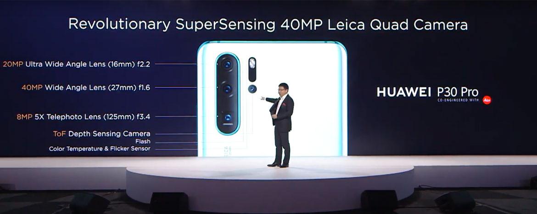 Huawei P30 Pro tanıtıldı. İşte özellikleri!