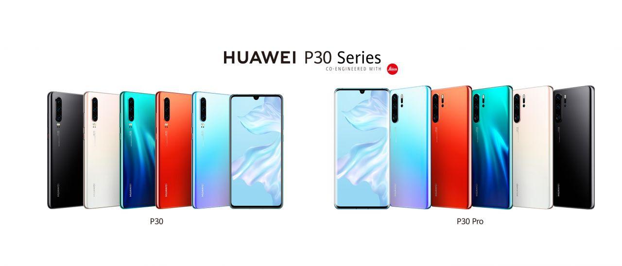Huawei P30 ailesi fotoğrafları - Page 1