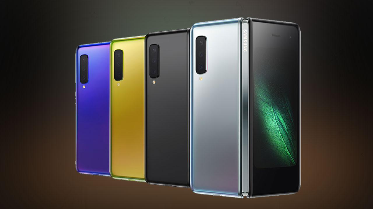 Katlanabilir ekranlı Samsung Galaxy Fold testte (video)
