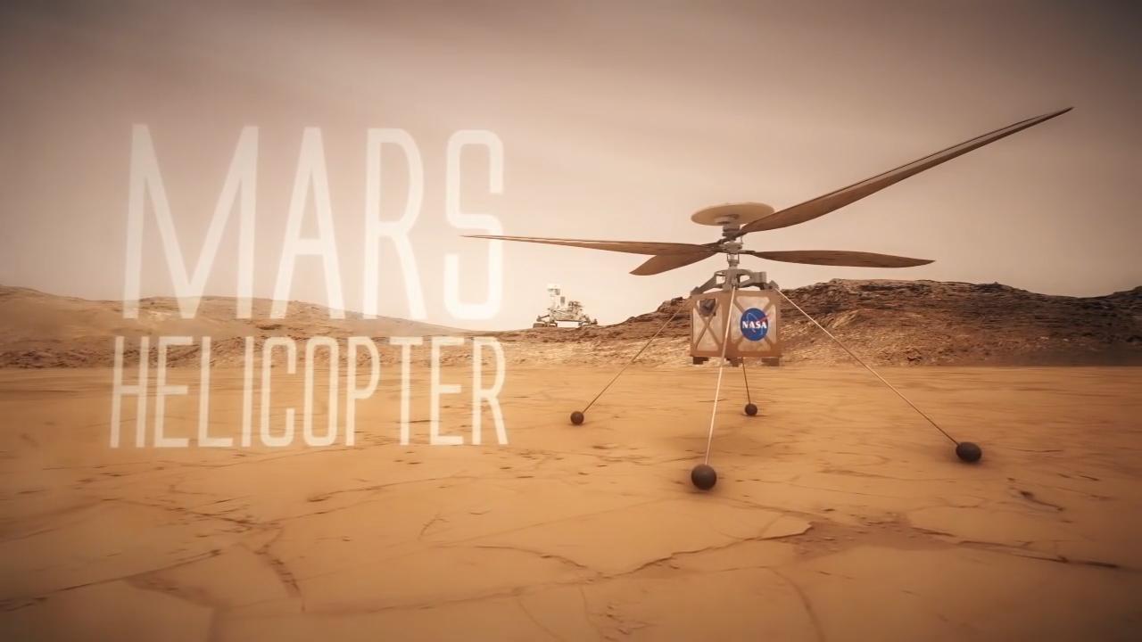 NASA'nın Mars helikopteri ilk testlerini başarıyla tamamladı!