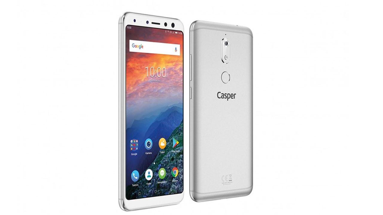 A101'de Casper VIA A2 cep telefonu satılacak.