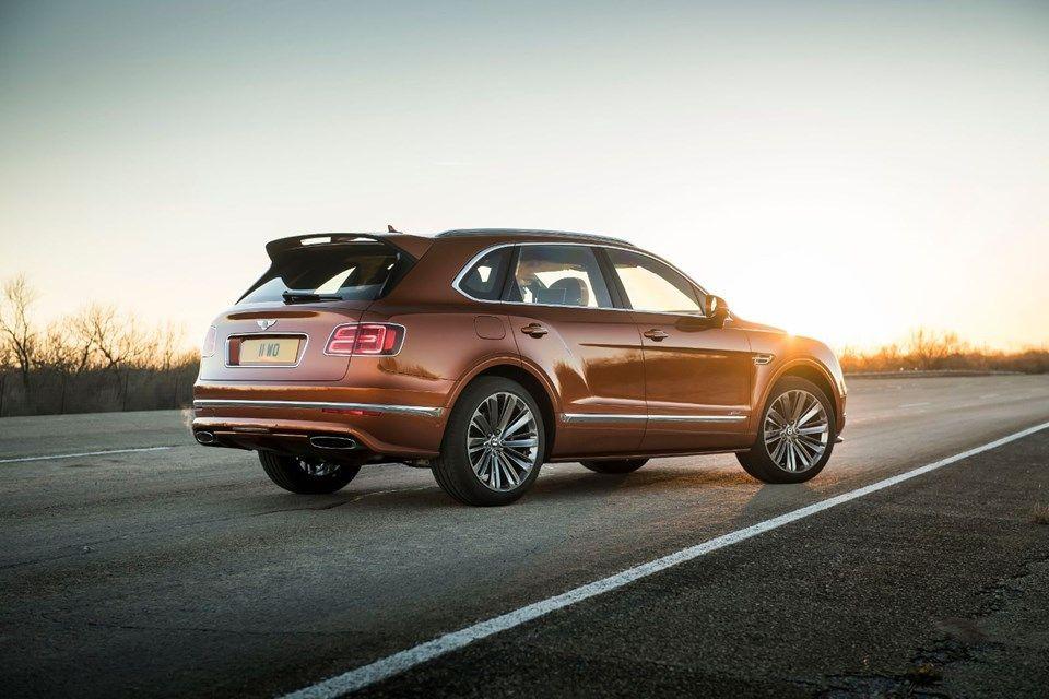 Bentley'den dünyanın en hızlı ve lüks aracı: Bentayga Speed! - Page 1