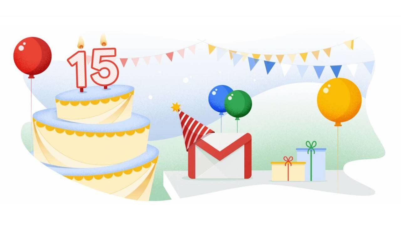 Gmail 15 yaşında!