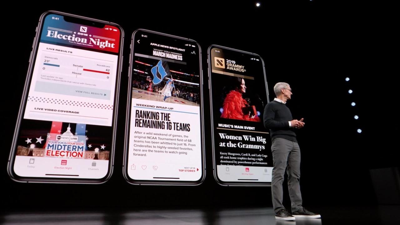 Apple News+ rekor abone sayısına ulaştı!