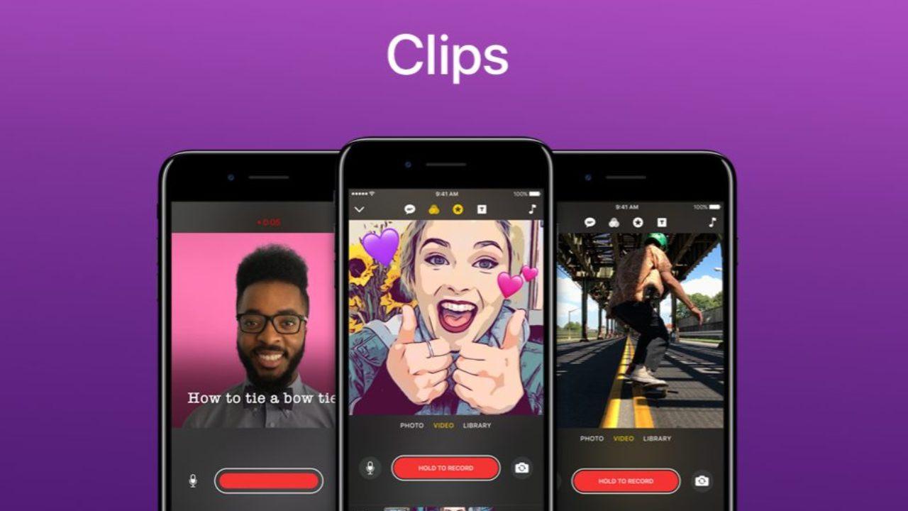 Apple Clips uygulaması güncellendi!