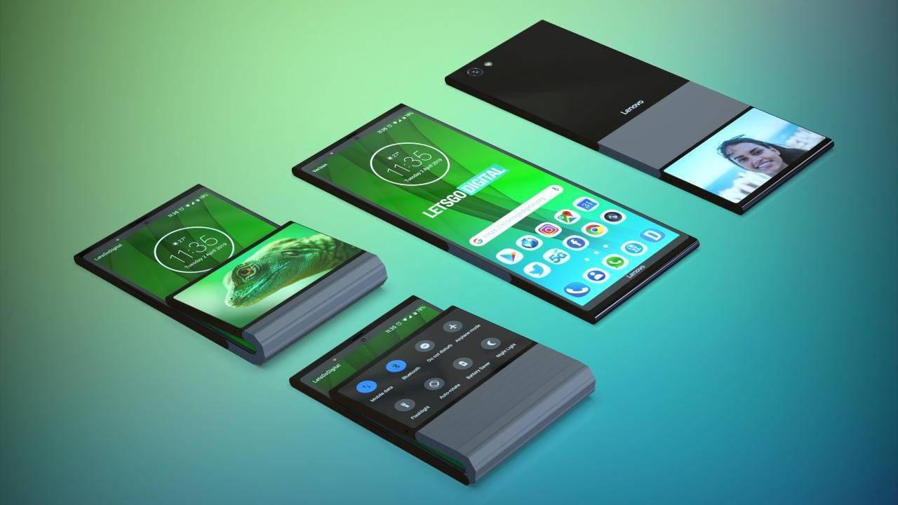 Lenovo'dan katlanabilir telefon için yeni patent!