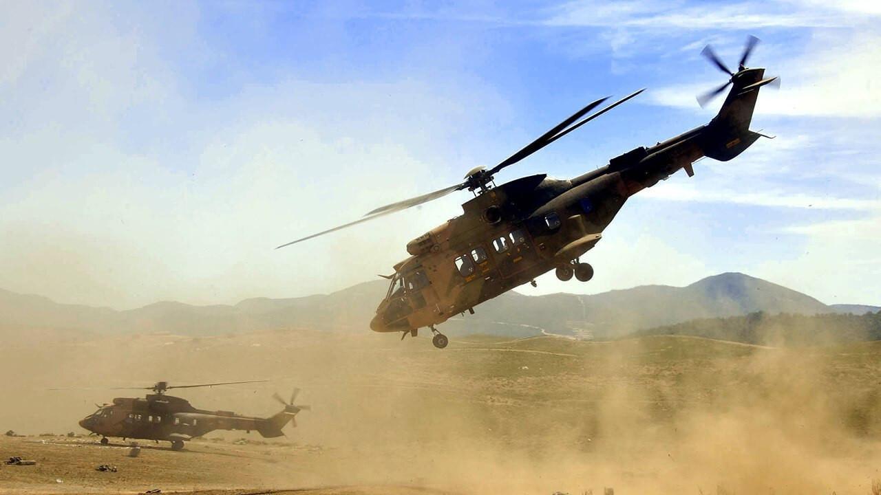 Helikopterler engelleri lazerle görecek!