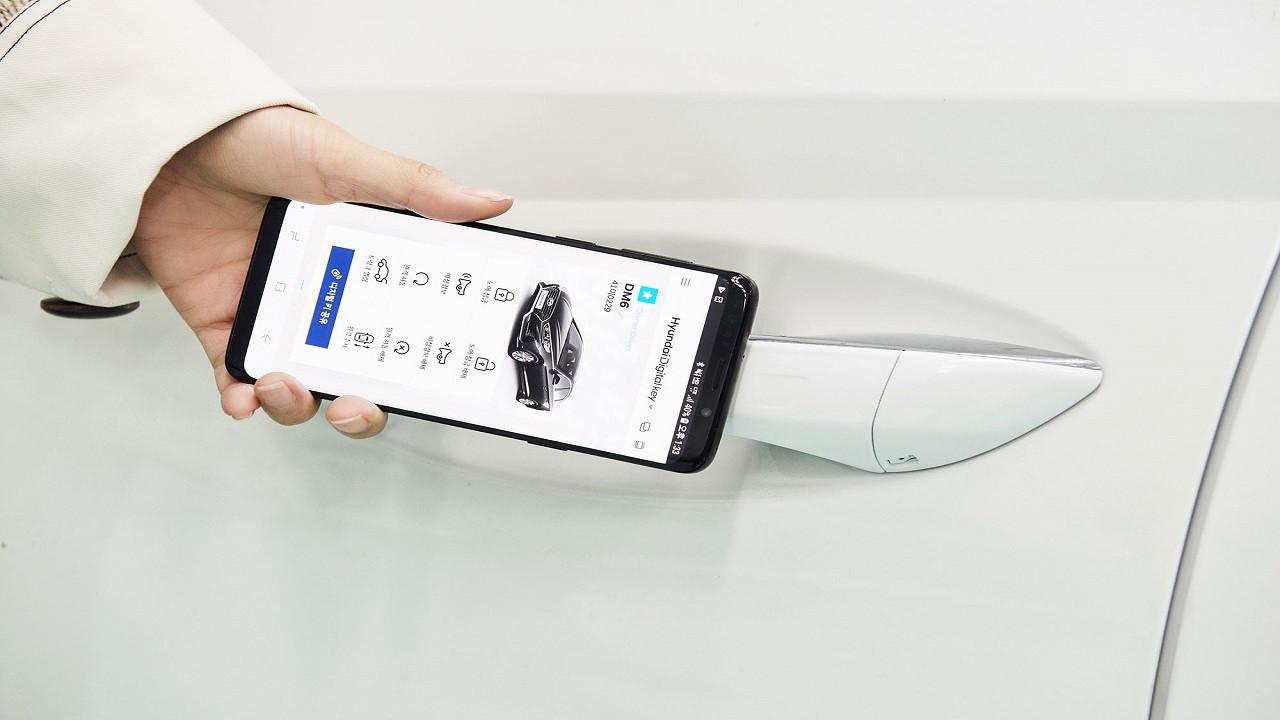 Hyundai de dijital anahtar kullanacak!