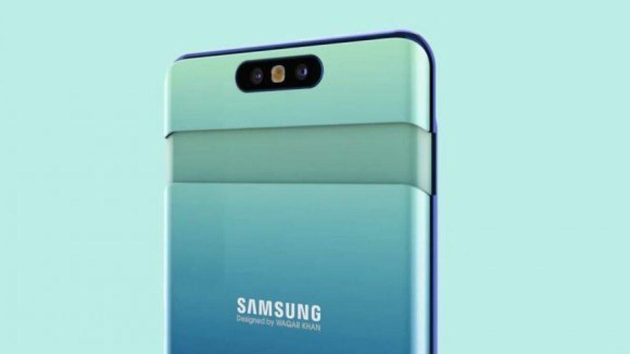 Samsung Galaxy A80 tanıtıldı!