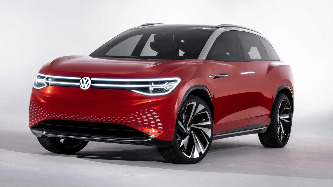 Tesla Model X rakibi Volkswagen ID ROOMZZ