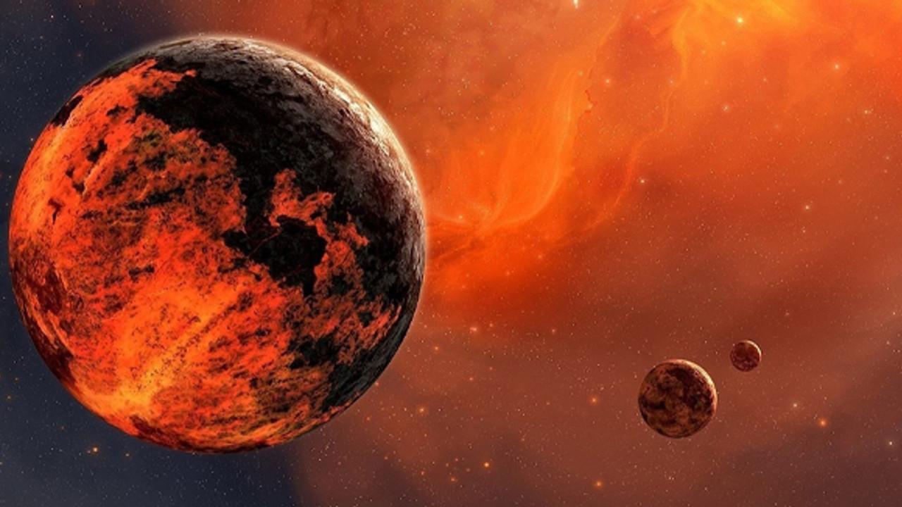 Kızıl Gezegen'de oluşan sarsıntı bilim insanlarını korkuttu!